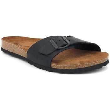 Chaussures Homme Claquettes Interbios 9564 Noir