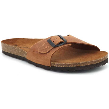 Chaussures Homme Claquettes Interbios 9564 Marron