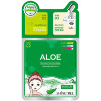 Beauté Masques & gommages Shinetree Aloe Relaxing Solution Mask 3 Steps