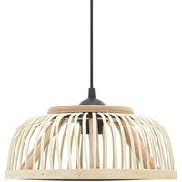 Maison & Déco Lustres, suspensions et plafonniers Vidaxl Lampe suspendue 30 x 12 cm Brun