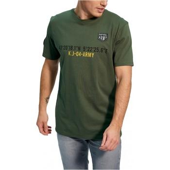 Vêtements Homme T-shirts manches courtes Kaporal TEFAR Vert