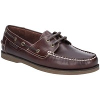 Chaussures Homme Chaussures bateau Hush puppies  Marron foncé