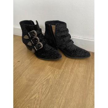 Chaussures Femme Bottines Vanessa Wu Bottines Vanessa Wu Noir
