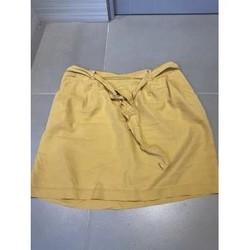Vêtements Femme Jupes Sans marque Jupe jaune moutarde Jaune