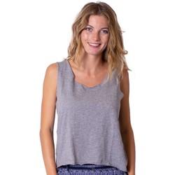 Vêtements Femme Tops / Blouses Coton Du Monde Maeline Gris