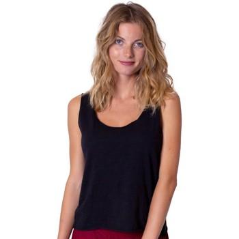 Vêtements Femme Tops / Blouses Coton Du Monde Maeline Noir