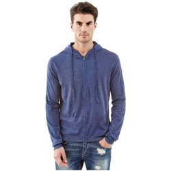 Vêtements Homme Sweats Guess Sweat à capuche  Franco Bleu Bleu
