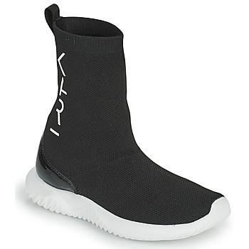 Chaussures Fille Baskets montantes Karl Lagerfeld HEROS Noir