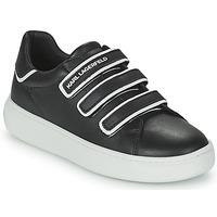 Chaussures Enfant Baskets basses Karl Lagerfeld GOLINDA Noir