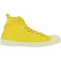 Chaussures Femme Baskets montantes Bensimon STELLA JAUNE