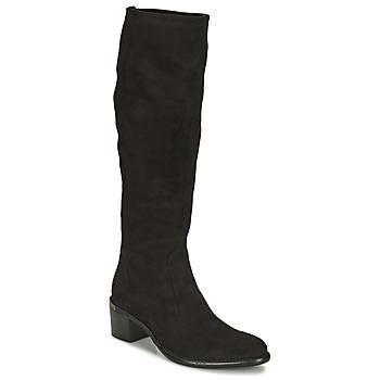 Chaussures Femme Bottes ville Adige DIANE V1 CAMOSCIO NOIR Noir