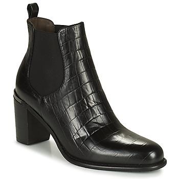 Chaussures Femme Bottes ville Adige FANY V5 CAIMAN NOIR Noir
