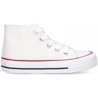 Chaussures Fille Baskets montantes Luna Collection 56834 blanc