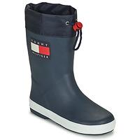 Chaussures Enfant Bottes de pluie Tommy Hilfiger T3X6-30766-0047800 Marine