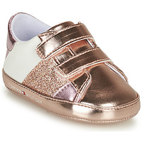 Chaussures Fille Baskets basses Tommy Hilfiger T0A4-31136-0268A081 Rose