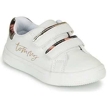Chaussures Fille Baskets basses Tommy Hilfiger T1A4-31156-1242X048 Blanc