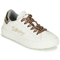 Chaussures Fille Baskets basses Tommy Hilfiger T3A4-31164-1242X048 Blanc