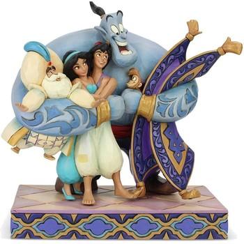 Maison & Déco Statuettes et figurines Disney Figurine collection Aladdin et ses amis  Traditions Bleu