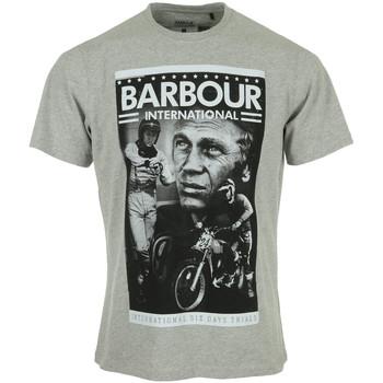 Vêtements Homme T-shirts manches courtes Barbour Combo SMQ Tee gris