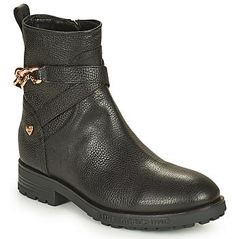 Chaussures Femme Boots Love Moschino JA21084G1D Noir