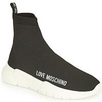 Chaussures Femme Baskets montantes Love Moschino JA15343G1D Noir