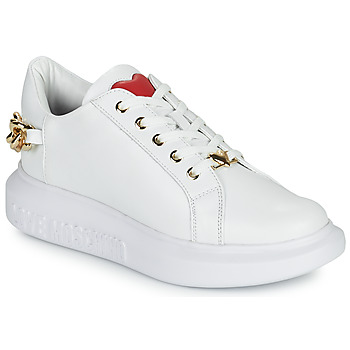 Chaussures Femme Baskets basses Love Moschino JA15144G1D Blanc