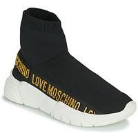 Chaussures Femme Baskets montantes Love Moschino JA15633G0D Noir