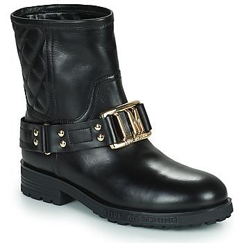 Chaussures Femme Bottines Love Moschino JA21224G0D Noir