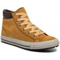 Chaussures Fille Baskets montantes Converse Ctas Pc Boot Hi 665163C Marron