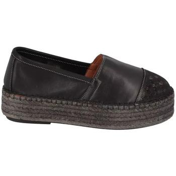 Chaussures Femme Espadrilles Lune Et L'autre Espadrille Plateforme Vassilia Noir