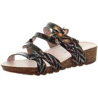 Chaussures Femme Sandales et Nu-pieds Laura Vita Sandales en cuir  ref 52172 Noir Noir