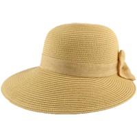 Chapeaux Nyls Création Chapeau Paille Zely en mottled Naturelle
