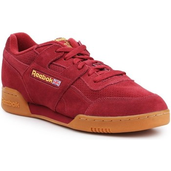 Chaussures Homme Baskets basses Reebok Sport Workout Plus MU Rouge