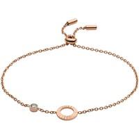 Montres & Bijoux Femme Bracelets Fossil Bracelet  Fluted Rose