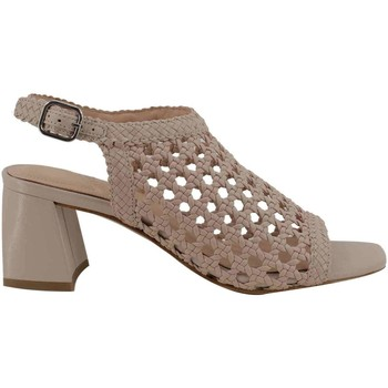 Chaussures Femme Sandales et Nu-pieds What For WF051 woven groupNUDE Nude