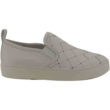 Chaussures Femme Slip ons What For WF145 snekears group WHITE