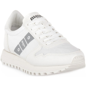 Chaussures Homme Baskets basses Blauer WHI MERRILL Bianco