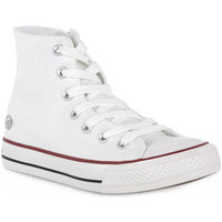 Chaussures Homme Baskets montantes Dockers 500 WEISS CANVAS Bianco
