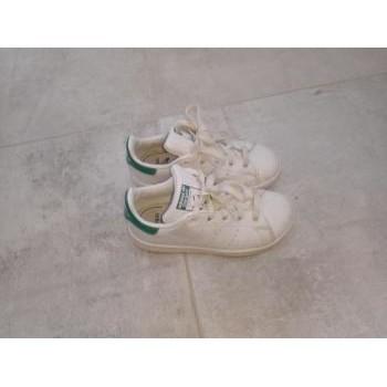 Chaussures Enfant Baskets basses adidas Originals Stan smith Blanc