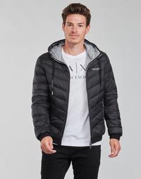 Vêtements Homme Doudounes Armani Exchange 8NZB53 Noir
