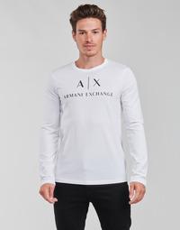 Vêtements Homme T-shirts manches longues Armani Exchange 8NZTCH Blanc