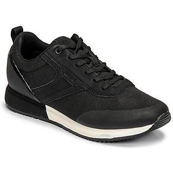 Chaussures Femme Baskets basses Esprit HOULLILA Noir