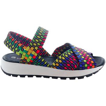 Chaussures Femme Multisport Bernie Mev Kaia Multi Black multicolore