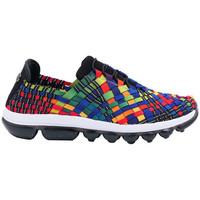 Chaussures Femme Baskets mode Bernie Mev Gummies Victoria Multi Black multicolore