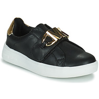 Chaussures Fille Baskets basses MICHAEL Michael Kors JEM MK Noir / Doré