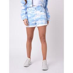 Vêtements Femme Shorts / Bermudas Project X Paris Short Bleu
