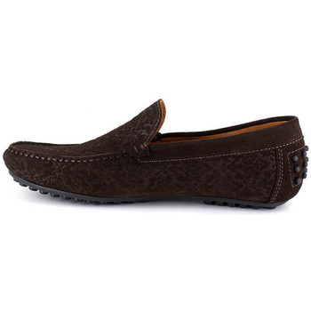 Chaussures Homme Mocassins Peter Blade DURHAM MARRON Marron