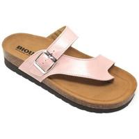 Chaussures Femme Mules Bioline TONGS  - 3908 ROSE rose