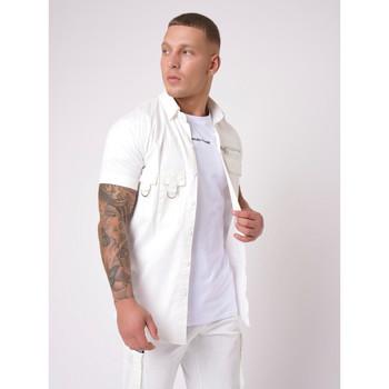 Vêtements Homme Chemises manches courtes Project X Paris Chemise Blanc