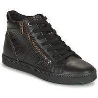Chaussures Femme Baskets montantes Geox BLOMIEE Noir